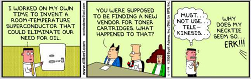 Nobody REALLY wants to deal with toner cartridge vendors!